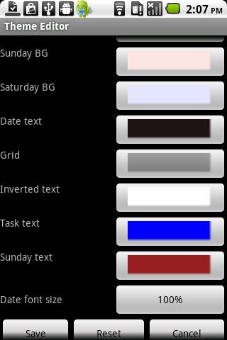 Calendar Pad Pro - screenshot