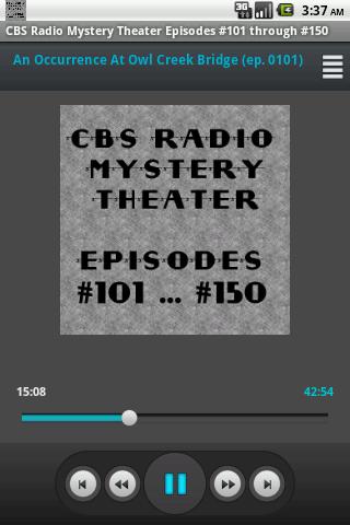 CBS Radio Mystery Theater V.03