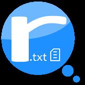App SimpleR.txt Reader (Free) APK for Kindle