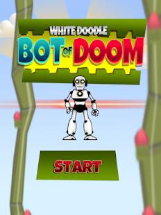 White Doodle Bot of Doom