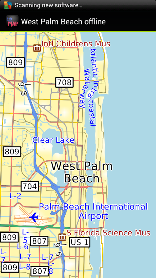 west palm beach offline map android apps on google play. Black Bedroom Furniture Sets. Home Design Ideas