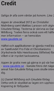 Adventskalendern GAudete - screenshot thumbnail