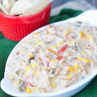 Slow Cooker Chicken Fajita Dip