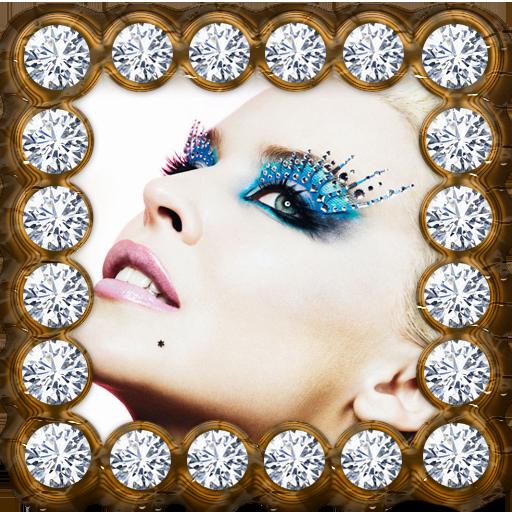 钻石相框 攝影 LOGO-玩APPs