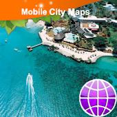 Mauritius Street Map