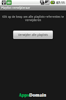 Screenshot of Playlist remover