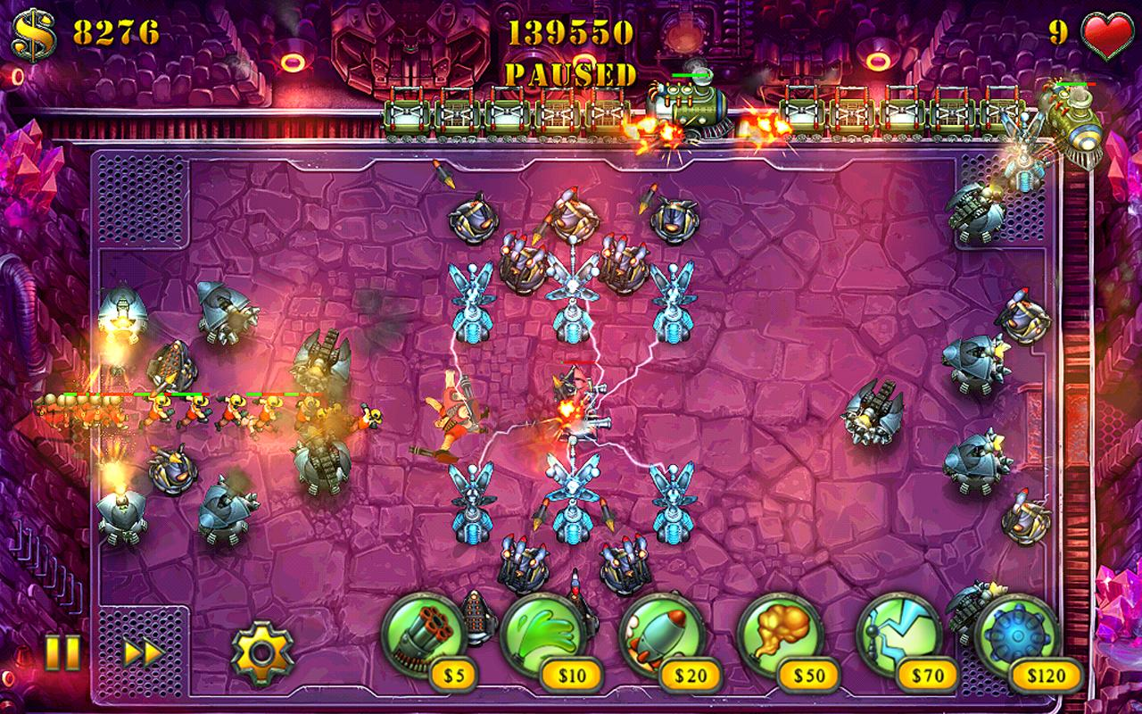 Fieldrunners HD – Screenshot