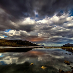 speed clouds by Benny Høynes - Landscapes Cloud Formations ( clouds, formations, sea, lake, norway, colours )