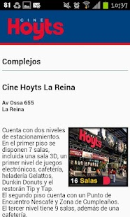 Hoyts Cinemas Chile - screenshot thumbnail