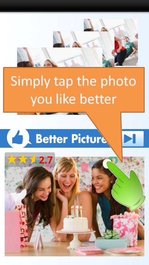 picture rater - screenshot