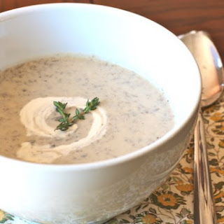 Cream of Mushroom Soup (SCD, Paleo, Vegan Option)
