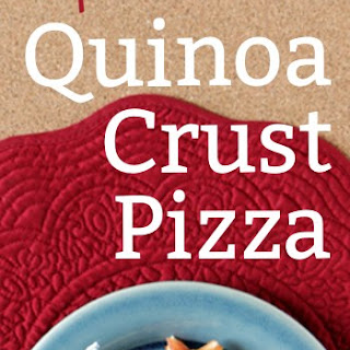 Sprouted Quinoa Pizza Crust Recipe – Gluten Free