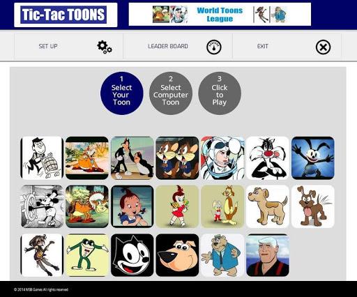 Tic-Tac TOONS