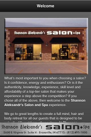 Shannon Aleksandr's Salon - screenshot