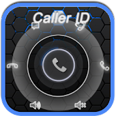 RocketDial CallerID Black Ring