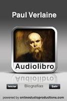 Screenshot of Paul Verlain AudioBio