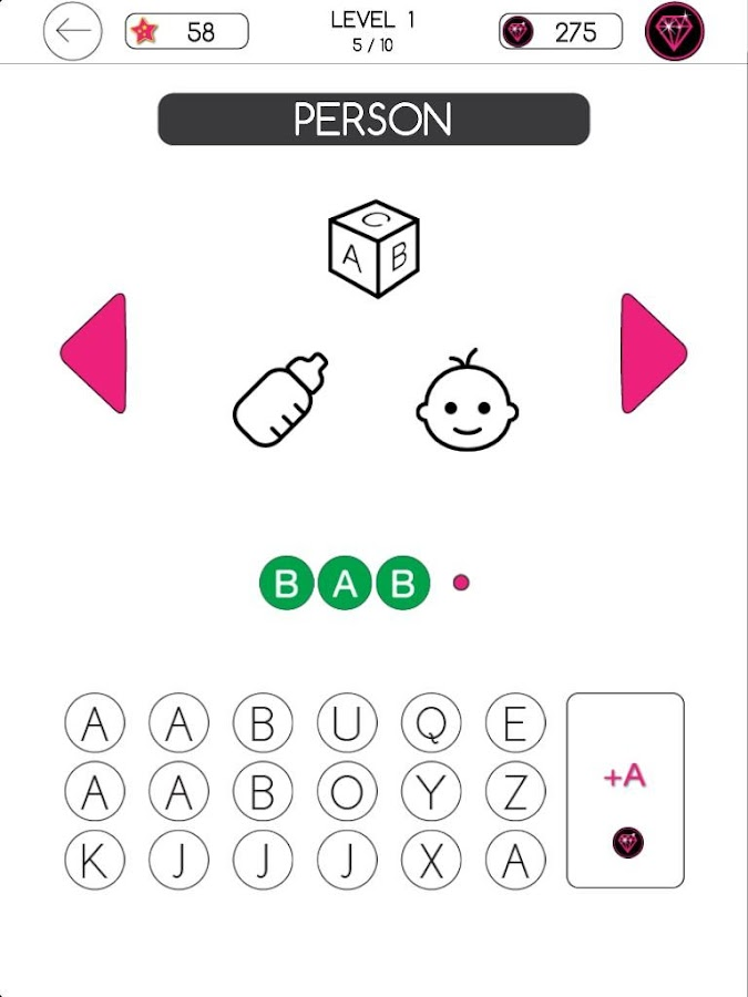 3 Icons 1 Word - Mind Puzzle- screenshot