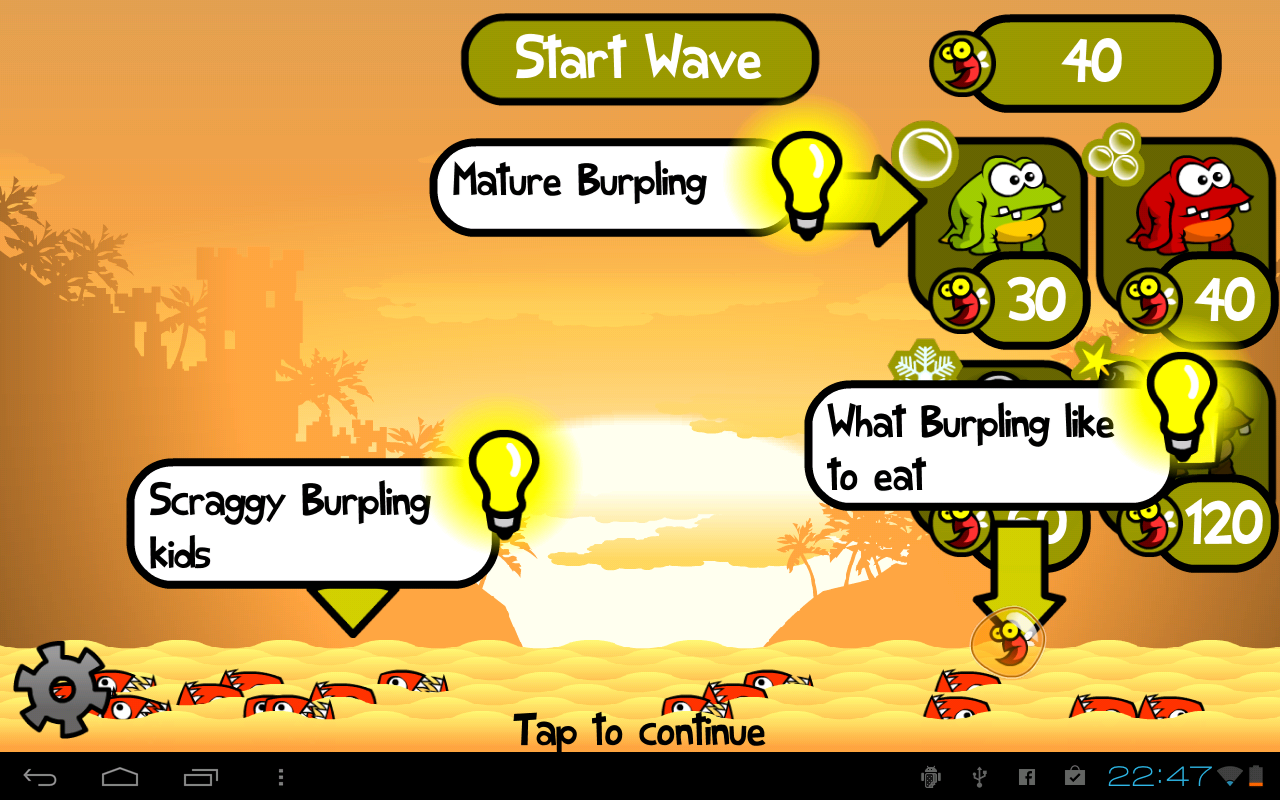 Greedy Burplings Lite - screenshot