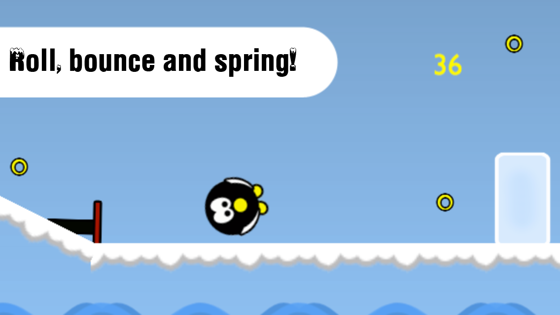Penguin Roll Free- screenshot