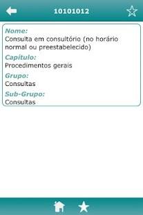 Procedimentos TUSS- screenshot thumbnail