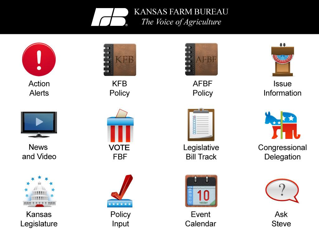 Kansas Farm Bureau - screenshot