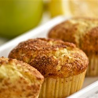 Apple Lemon with Cinnamon Muffins