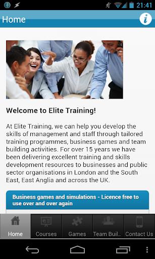 Elite Training