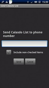 The Calasdo List - screenshot thumbnail