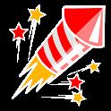 Fuegos artificiales icon