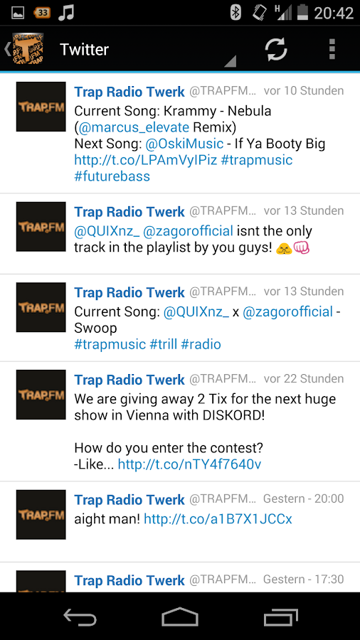 TRAP.FM - Trap Radio- screenshot