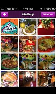 La Canasta Capitolio- screenshot thumbnail