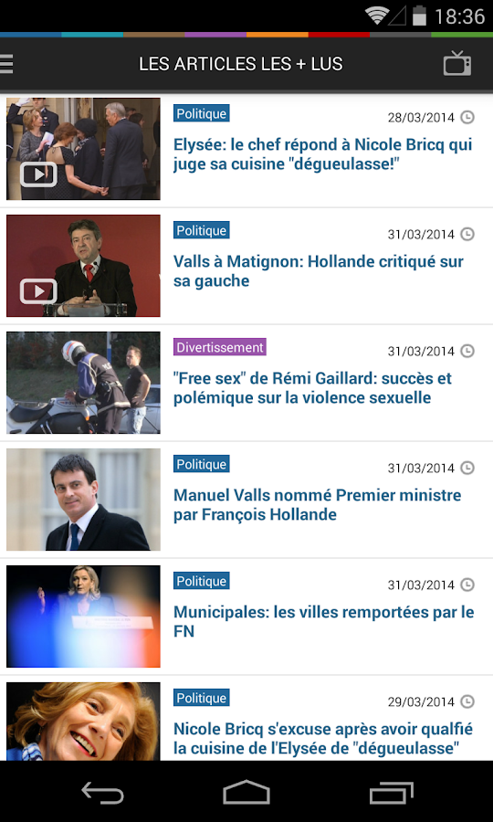 BFMTV - screenshot