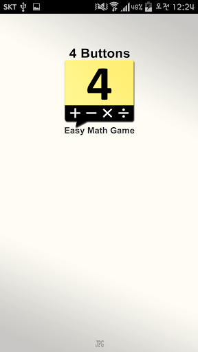 4buttons - Easy Math Game