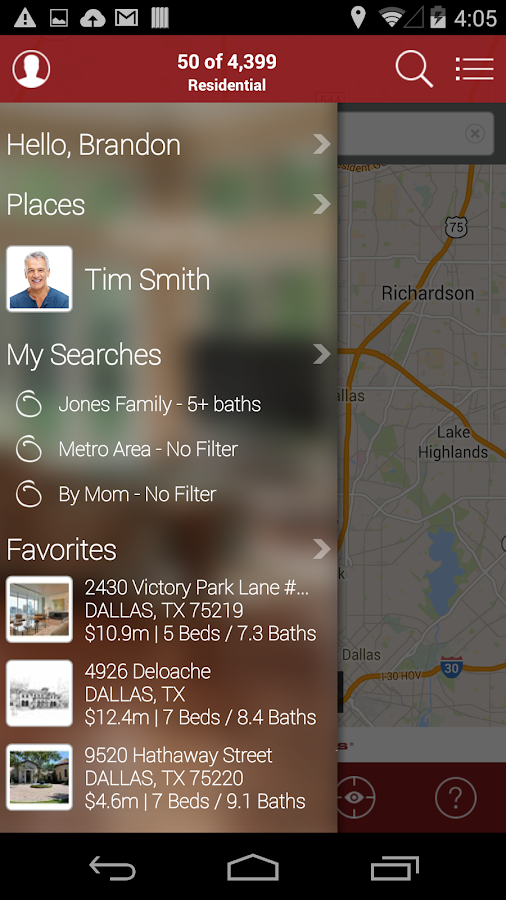 Ebby Halliday Realtors- screenshot