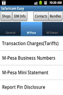 Safaricom Easy - screenshot thumbnail