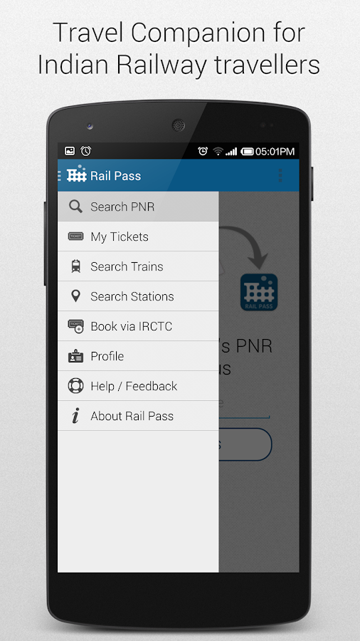 Indian Railway App PNR Status- screenshot