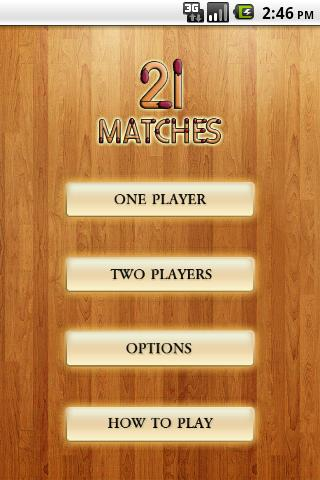 21 Matches - screenshot