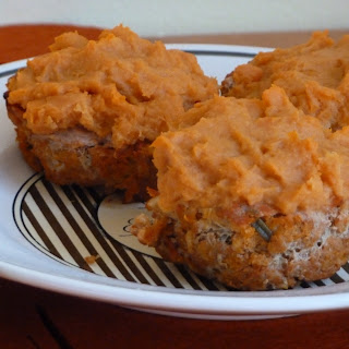 Turkey Meatloaf Cups with Sweet Potato Topping