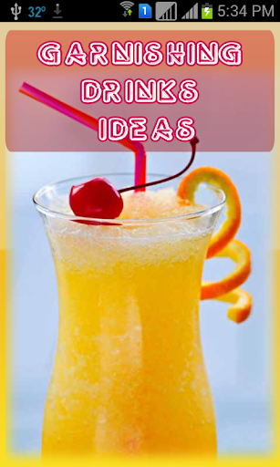 Garnishing Drinks Ideas