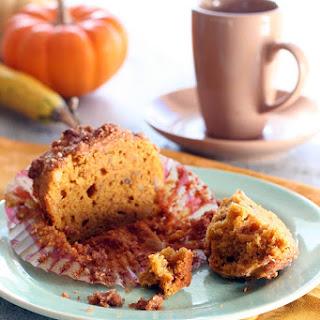 Gluten-Free Pumpkin Streusel Muffins.