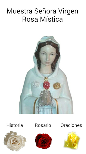 Virgin Mary Mystical Rose.