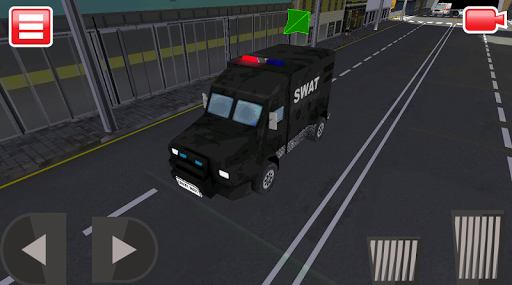 Police Car Simulator in 3D