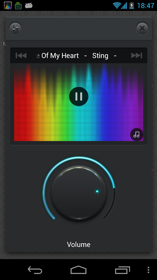 Music Equalizer - screenshot