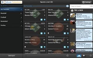 Screenshot of Sports Live! HD