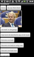 Screenshot of Wilders Soundboard