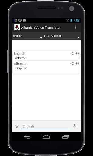 Albanian Voice Translator