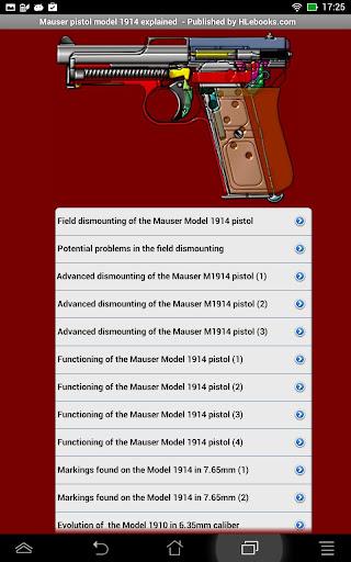 Mauser pistol M1914 explained