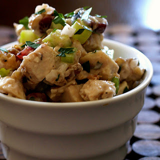 Cranberry-Walnut Chicken Salad