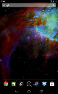 Space Galaxy Live Wallpaper- screenshot thumbnail