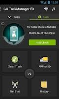 Screenshot of GO Cleaner & Task Manager